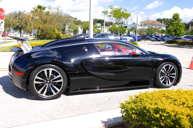 used 2010 bugatti veyron eb 16.4 sang noir for sale in fort
