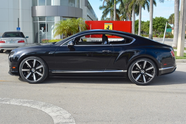 Used 2015 BENTLEY CONTINENTAL GT SPEED For Sale | Ft. Lauderdale FL