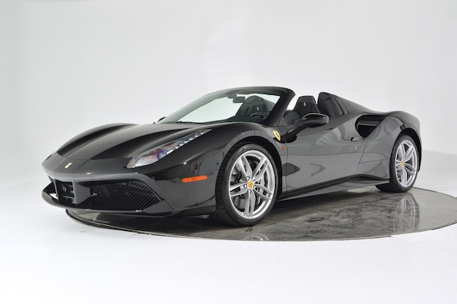 2017 FERRARI 488 SPIDER Convertible for sale in Fort Lauderdale, FL at Ferrari of Fort Lauderdale