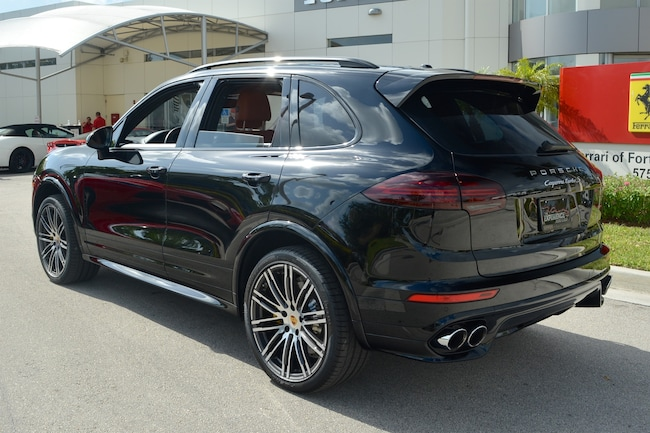 Used 2016 Porsche Cayenne Turbo S For Sale In Fort Lauderdale