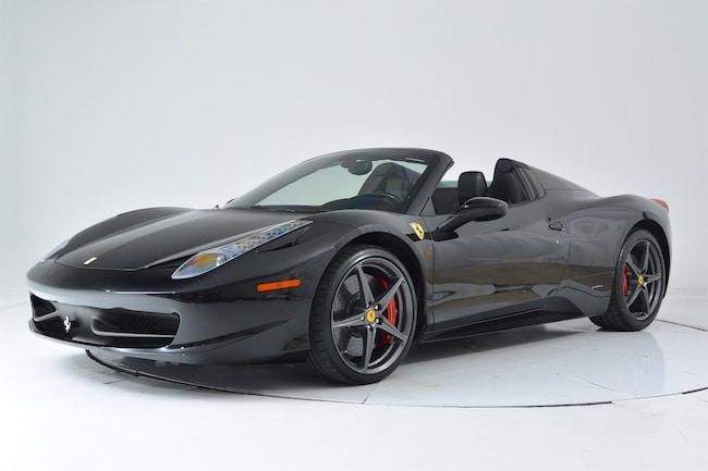 2014 FERRARI 458 SPIDER Convertible for sale in Fort Lauderdale, FL at Ferrari of Fort Lauderdale