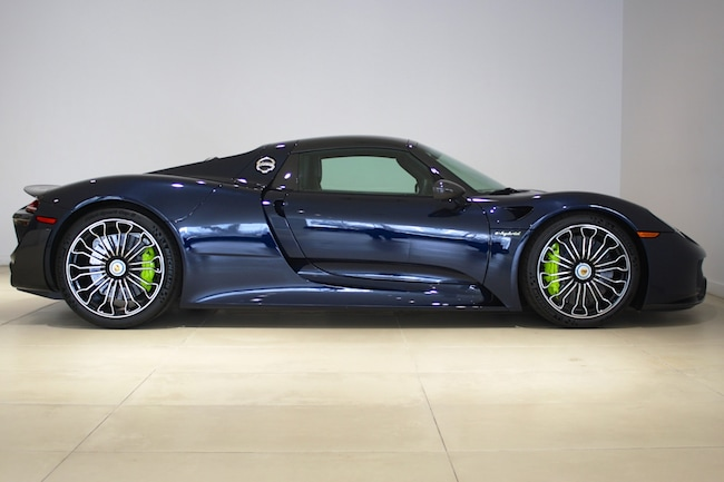 Used 2015 Porsche 918 Spyder Weissach Package For Sale In Fort