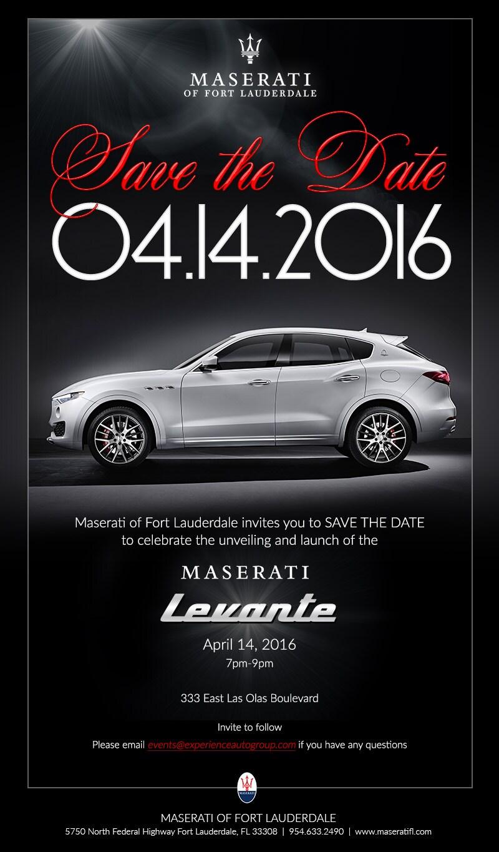 Maserati Levante Event