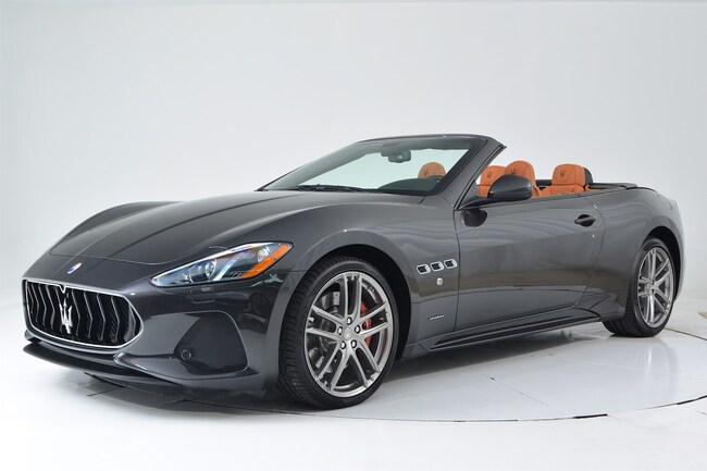 2018 MASERATI GT CONVERTIBLE SPORT Convertible for sale in Fort Lauderdale, FL at Maserati of Fort Lauderdale