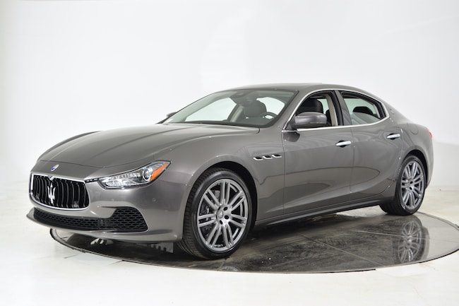 2017 MASERATI GHIBLI S Sedan for sale in Fort Lauderdale, FL at Maserati of Fort Lauderdale