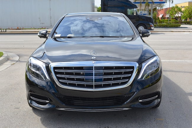 Used 2016 mercedes benz maybach s600 for sale ft for Mercedes benz of ft lauderdale fl