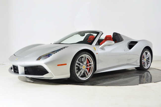2017 FERRARI 488 SPIDER Convertible for sale in Fort Lauderdale, FL at Maserati of Fort Lauderdale