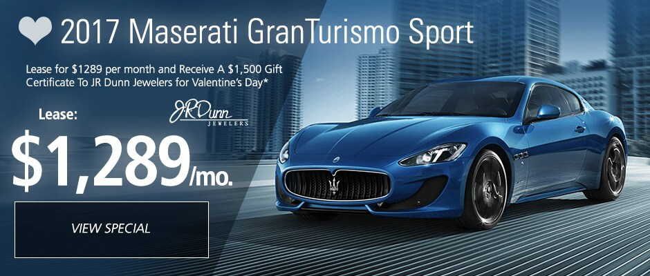 lease a new maserati with attractive lease deals in fort. Black Bedroom Furniture Sets. Home Design Ideas