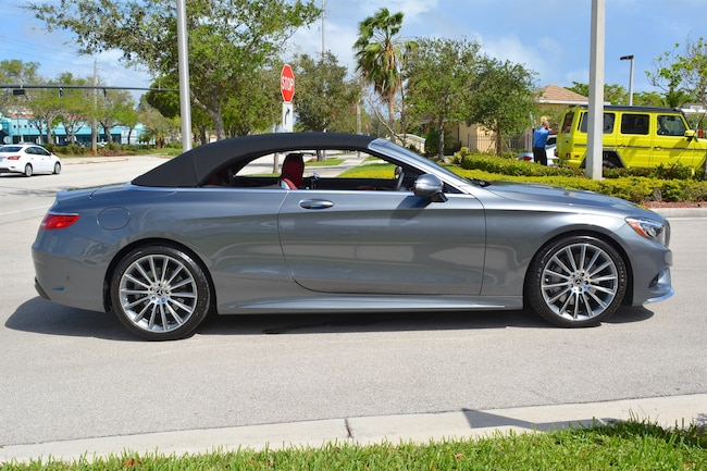 Used 2017 mercedes benz s550 cabriolet for sale ft for Mercedes benz of ft lauderdale fort lauderdale fl