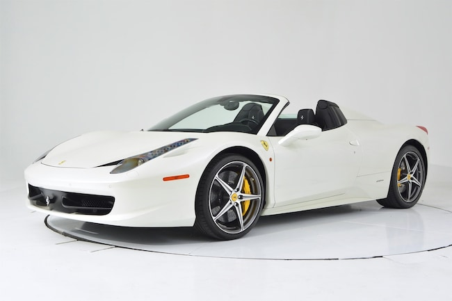 2015 FERRARI 458 SPIDER Convertible for sale in Fort Lauderdale, FL at Ferrari of Fort Lauderdale