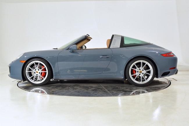 Used 2017 PORSCHE 911 TARGA 4S For Sale | Ft. Lauderdale FL  Porsche Targa Blue on 2017 porsche cayman, 2017 porsche cayenne, 2017 porsche gt3, 2017 ford gt targa, 2017 porsche boxster,