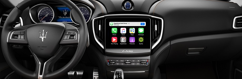 Apple Carplay in Maserati Ghibli
