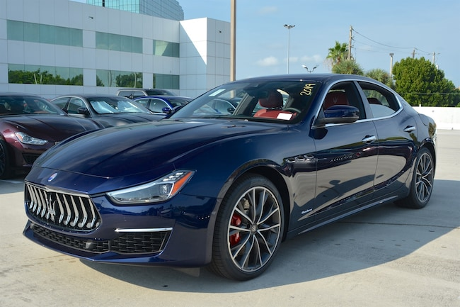 2019 MASERATI GHIBLI S Q4 GRANLUSSO Sedan for sale in Fort Lauderdale, FL at Maserati of Fort Lauderdale