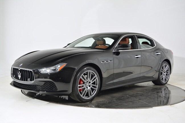 2017 MASERATI GHIBLI Sedan for sale in Fort Lauderdale, FL at Maserati of Fort Lauderdale
