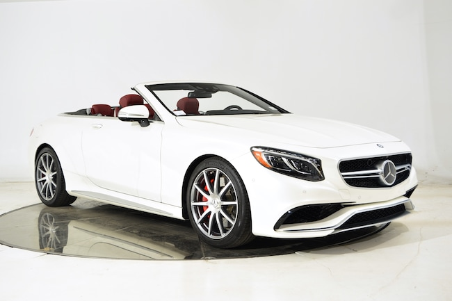 Used 2017 mercedes benz s63 amg convertible for sale ft for Mercedes benz of ft lauderdale fl