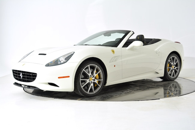 2013 FERRARI CALIFORNIA Convertible for sale in Fort Lauderdale, FL at Ferrari of Fort Lauderdale