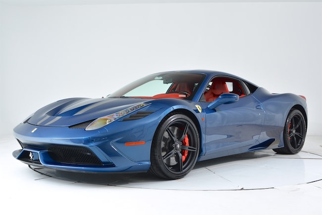 2015 FERRARI 458 SPECIALE Coupe for sale in Plainview, NY at Ferrari of Long Island