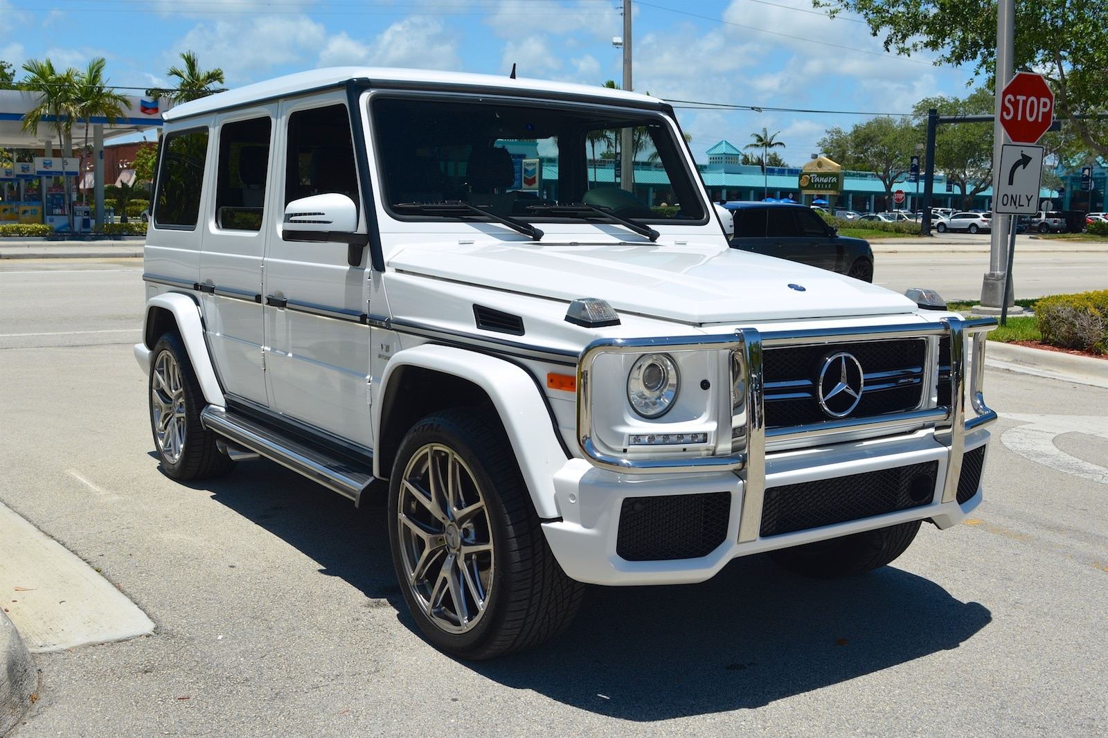 Used 2015 mercedes benz g63 amg for sale fort lauderdale fl for Mercedes benz g63 amg for sale