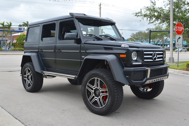Used 2017 mercedes benz g550 4x4 squared for sale for 2017 mercedes benz g550 4x4 squared for sale