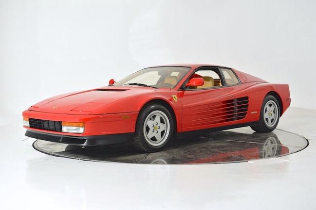 1989 FERRARI TESTAROSSA Coupe for sale in Fort Lauderdale, FL at Ferrari of Fort Lauderdale