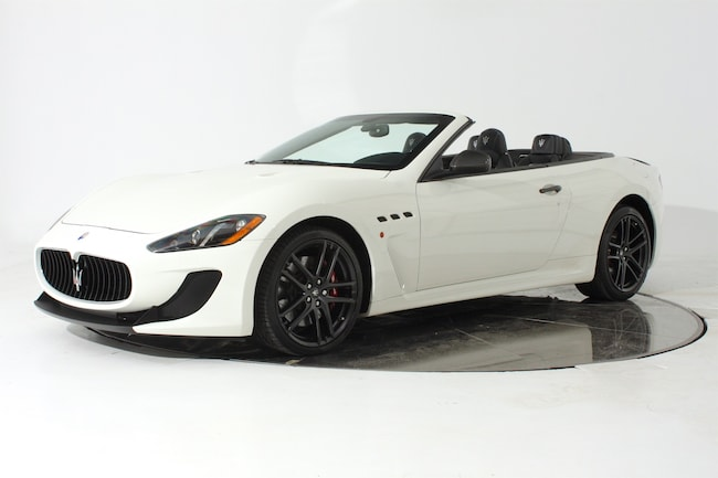 2013 MASERATI GT CONVERTIBLE MC Convertible for sale in Fort Lauderdale, FL at Maserati of Fort Lauderdale