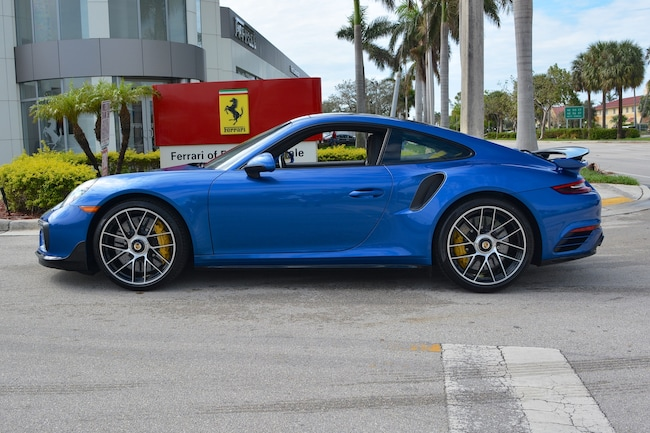 Used 2018 PORSCHE 911 TURBO S For Sale In Fort Lauderdale