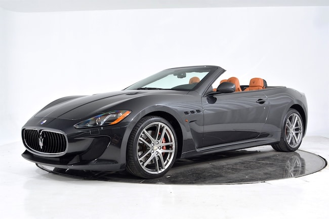 2017 MASERATI GT CONVERTIBLE MC Convertible for sale in Fort Lauderdale, FL at Maserati of Fort Lauderdale