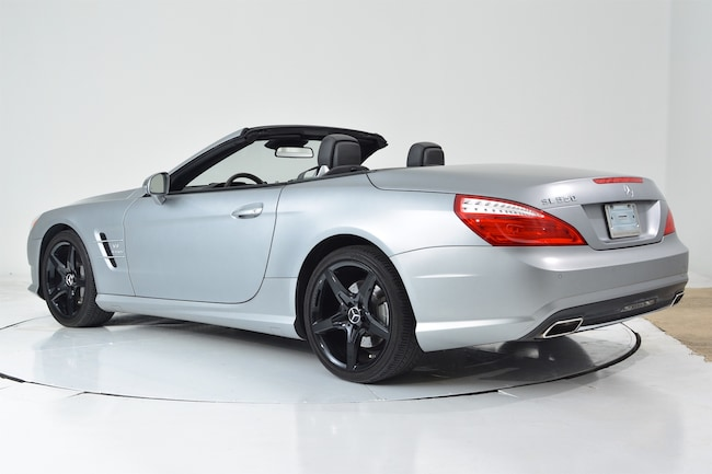 Used 2014 mercedes benz sl550 for sale ft lauderdale fl for Mercedes benz of fort lauderdale staff
