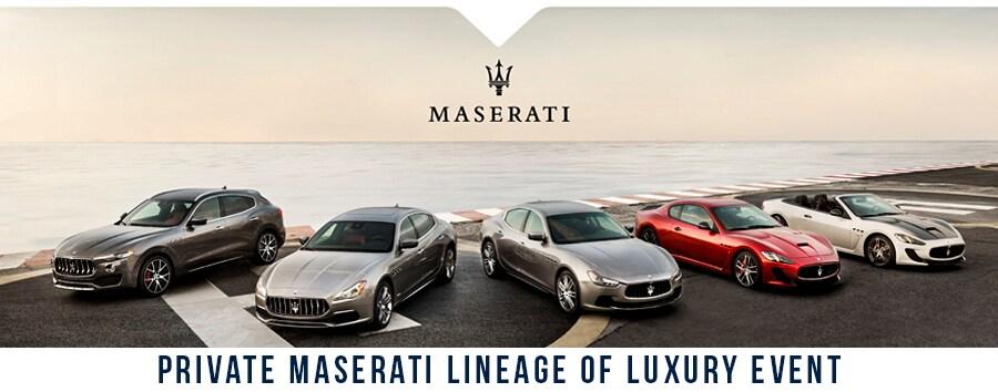 Maserati of Fort Lauderdale Sales Event
