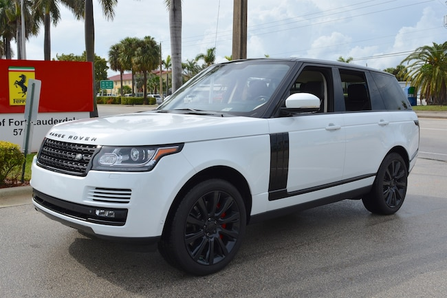2015 LAND ROVER RANGE ROVER SUPERCHARGED SUV for sale in Fort Lauderdale, FL at Ferrari of Fort Lauderdale