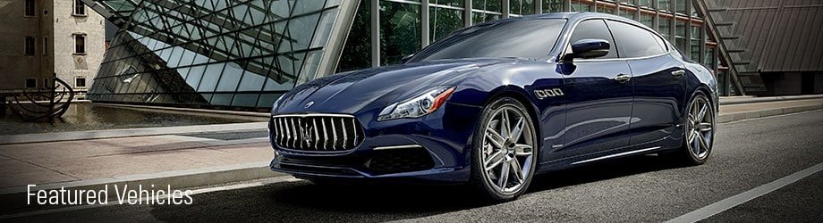 Featured Maserati for sale
