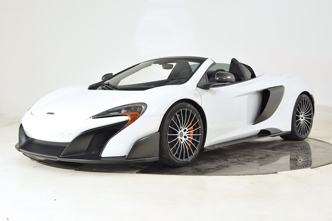 2016 MCLAREN 675LT SPIDER Convertible for sale in Fort Lauderdale, FL at Maserati of Fort Lauderdale