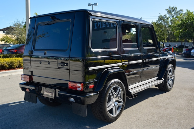 Used 2016 mercedes benz g63 amg for sale fort lauderdale fl for Mercedes benz of ft lauderdale fl