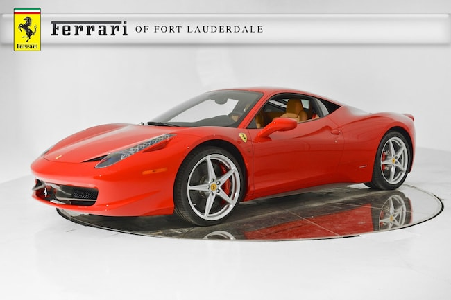 2013 FERRARI 458 ITALIA Coupe for sale in Fort Lauderdale, FL at Ferrari of Fort Lauderdale