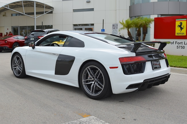 used 2017 audi r8 v10 plus for sale in fort lauderdale maserati of fort lauderdale stock fp3486a. Black Bedroom Furniture Sets. Home Design Ideas
