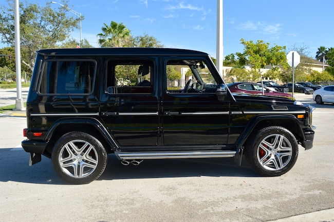 Used 2016 mercedes benz g63 amg for sale ft lauderdale fl for Mercedes benz of fort lauderdale pre owned