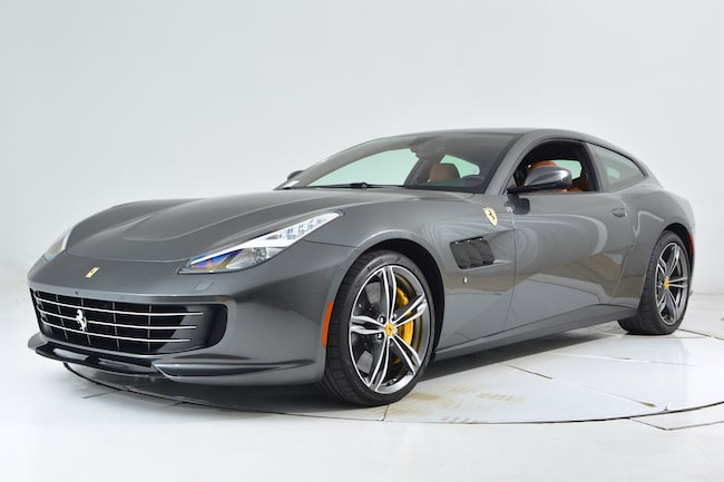 2017 FERRARI GTC4LUSSO Coupe for sale in Fort Lauderdale, FL at Maserati of Fort Lauderdale