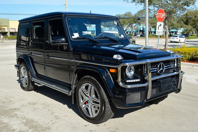 Used 2016 mercedes benz g63 amg for sale plainview near for Mercedes benz of fort lauderdale pre owned