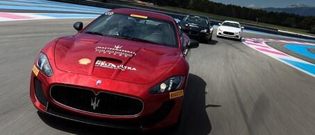 Red Maserati Granturismo MC