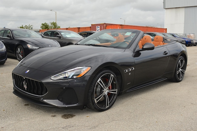 new 2018 maserati gt convertible sport for sale | fort lauderdale fl