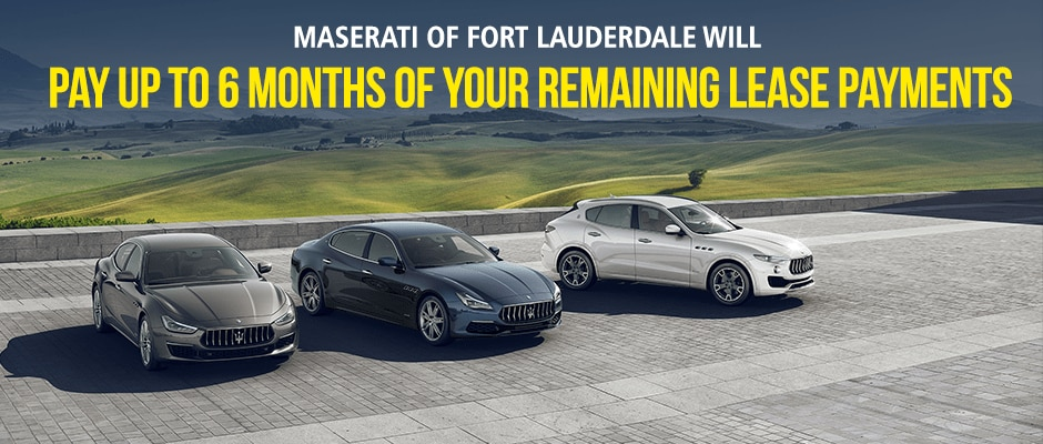lease a new maserati with attractive lease deals in fort lauderdale