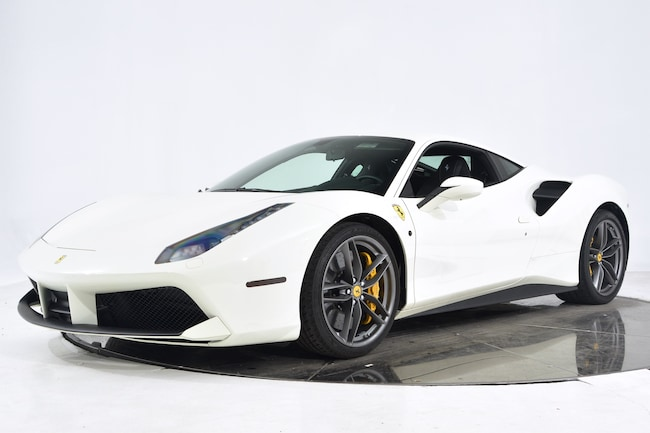 2018 FERRARI 488 GTB Coupe for sale in Fort Lauderdale, FL at Maserati of Fort Lauderdale