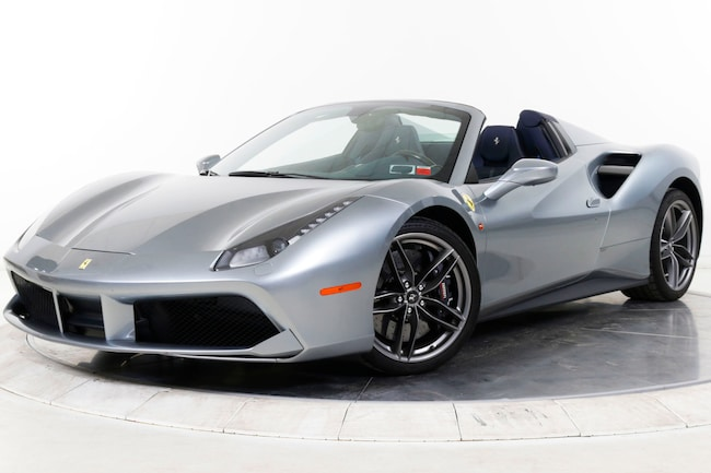 2017 FERRARI 488 SPIDER Convertible for sale in Plainview, NY at Maserati of Long Island