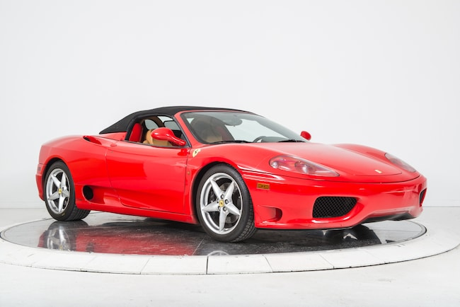 used 2004 ferrari 360 spider f1 for sale plainview near long island ny vin zffyt53a040137104. Black Bedroom Furniture Sets. Home Design Ideas