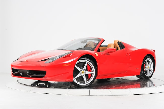 2012 FERRARI 458 SPIDER Convertible for sale in Plainview, NY at Maserati of Long Island