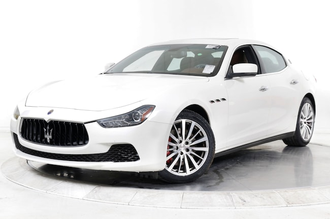 2016 MASERATI GHIBLI S Sedan for sale in Plainview, NY at Maserati of Long Island