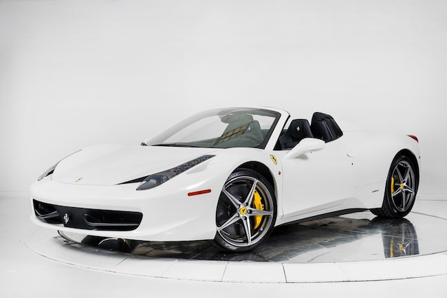 2015 FERRARI 458 SPIDER Convertible for sale in Plainview, NY at Maserati of Long Island