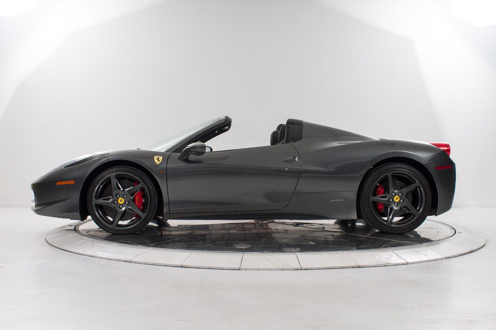 2013 ferrari 458 italia convertible for sale in plainview ny at maserati of long island