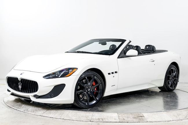 2014 MASERATI GT CONVERTIBLE SPORT Convertible for sale in Fort Lauderdale, FL at Maserati of Fort Lauderdale