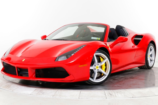 2018 FERRARI 488 SPIDER Convertible for sale in Plainview, NY at Ferrari of Long Island